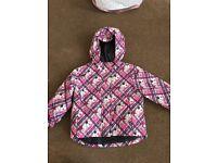 Baby girl skiing jacket 12-24 months