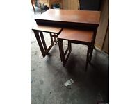Macintosh fold out table with stools £100 ono