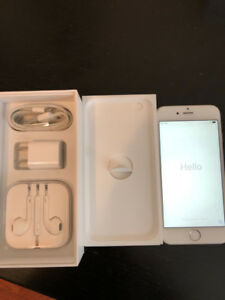 iPhone 6. 64GB Factory Unlocked, Pristine with new battery.