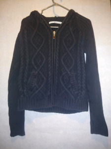 Beautiful Women's Large Tommy Hilfiger Full Zip Knitted Hoodie