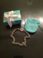 Guaranteed Authentic Tiffany & Co. Oval Tag Necklace
