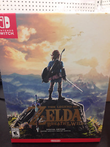 Legend of Zelda Breath Of The Wild Special Edition BNIB