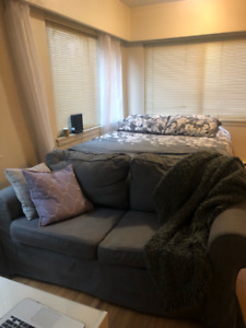 Gray Ikea Couch
