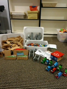 Massive lot of Thomas trains, tracks and accessories