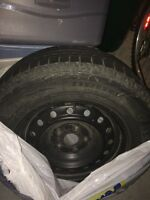 Set of Winter tires Michelin X ice & rims 235/65/16. $495 or b/o