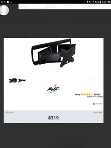 BRAND  New Multi Position T.V Wall Mount with Sound Bar Mount $1