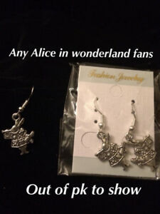 Alice In Wonderland Earings
