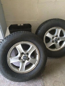 Selling Two 14 inch tires. From Toyota Camry