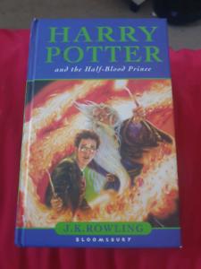 Hard Copy Edition of Harry Potter