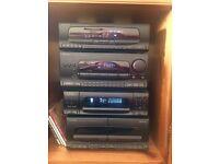 Kenwood stack system hi-fi
