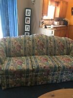 Couch and chair set for sale-$50.00