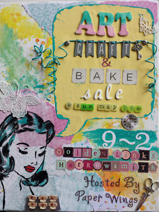 Art, Craft And Bake Sale