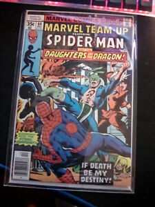 Silver age comic Marvel team up