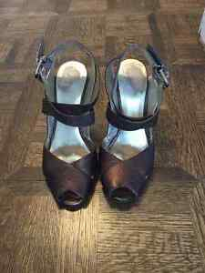 NINE WEST LEATHER SHOES SIZE 61/2