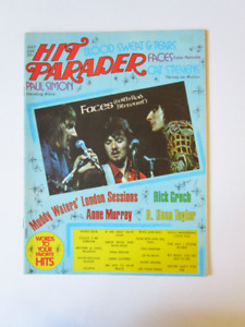 FACES.( WITH ROD STEWART) HIT PARADER. 1972.(voir infos)