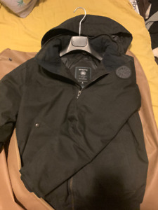 Selling Men Canada Goose Parka Black Label  (SMAll Size)