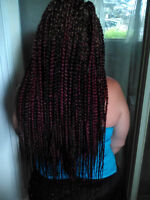 coiffure protectrice professionnelle special fete