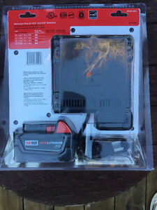 M18 Battery Charger and XC 3.0AH Battery Pack New $150 Stratford Kitchener Area image 2