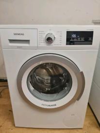 Siemens ExtraKlasse washing machine 8kg capacity white