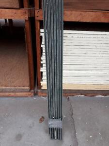 GREEN PVC H-CHANNEL FOR LATTICE