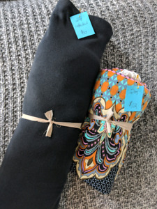 Cotton knit fabric and lycra knit fabric
