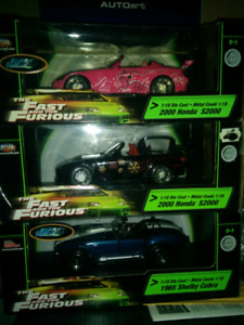 1/18 diecast fast and furious s2000,cobra