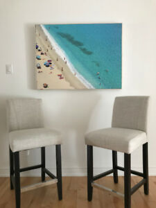 Practically brand new bar stools for sale