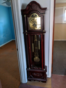 Estate sale - antique grandfather clock