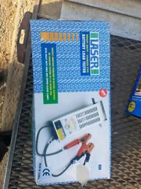 Laser heavy-duty stainless steel battery load tester