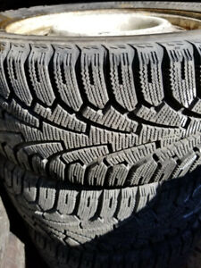 Hakkapelittas winter tires and rims for sale