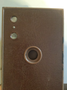 1924 VINTAGE BROWNIE - BROWN COLOR CAMERA MADE IN CANADA