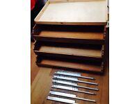 IKEA Komplement sliding wardrobe drawers, shelf and runners