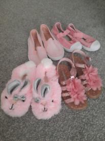 Size 7 girls shoe bundle
