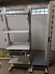 19 and 23 inch rack for servers and workstations