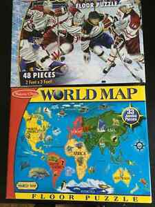 2 Melissa and Doug puzzles London Ontario image 1