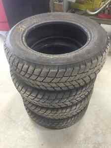14in Hankook I-Pike RC01 Winter Tires For Sale 185/65R14 86T Peterborough Peterborough Area image 2