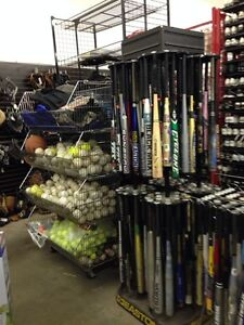 New and used ball equipment