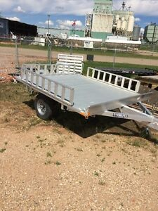 "Everlite 7'x 7'6"" Deck over ATV trailer with Sides"