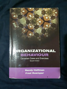 Organizational Behaviour Canadian Cases & Exercises 7th edition