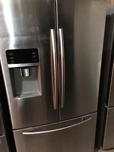 samsung stainless steel 3 door fridge - can deliver