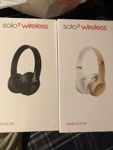Beats Solo3 Wireless Gold (New & Sealed)
