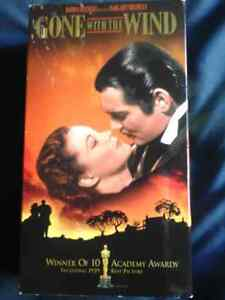 Gone with the Wind VHS Set Peterborough Peterborough Area image 1
