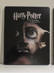 Harry Potter and the chamber of secrets (Blu-ray Steelbook) West Island Greater Montréal image 1