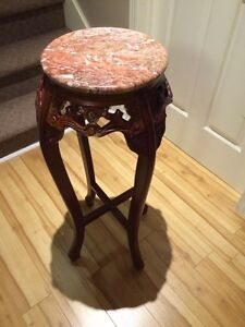 Asian-inspired accent table (small)