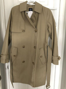 Brand New with Tags-GAP TRENCH COAT-small