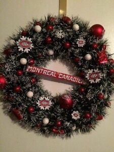Hockey Christmas wreaths Cornwall Ontario image 5