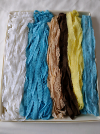 Unused Vintage Lace many many! metres of it in 6 Different Colours!!
