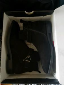 Black Suede Aldo Boots