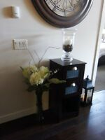 POTTERY BARN SIDE TABLE - LIKE NEW - MOVING SALE!!