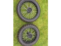 Pitbike wheels